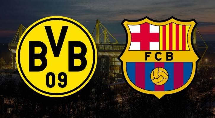 Барселона боруссия дортмунд видео