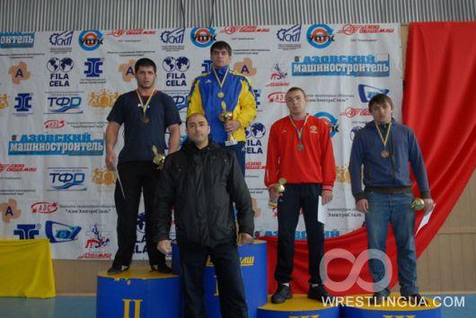 XII Международный турнир по Греко-римской борьбе на призы Григория Комышенко.