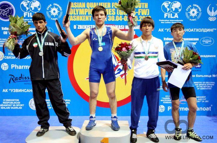 Олимпийский турнир в Узбекистане по греко-римской борьбе среди ...