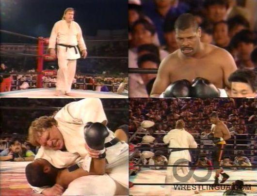 Бокс vs Дзюдо