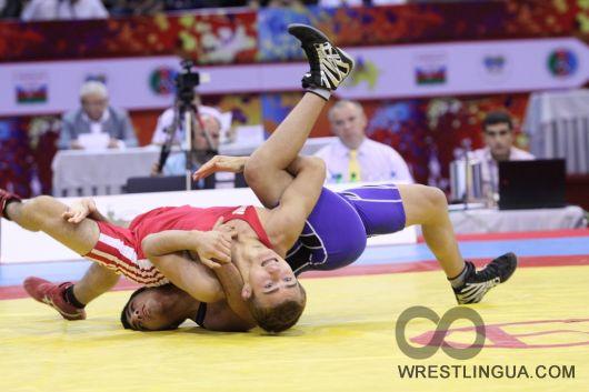 Хороший старт украинских борцов на Чемпионате мира 2012 года
