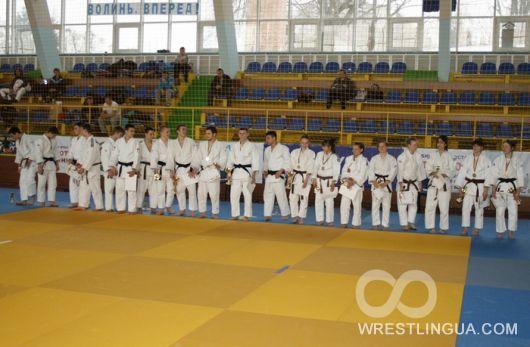 Результаты юниорского Чемпионата Украины по дзюдо в Луцке 2013