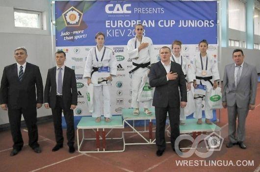 Кубок Европы по дзюдо U21 в Киеве
