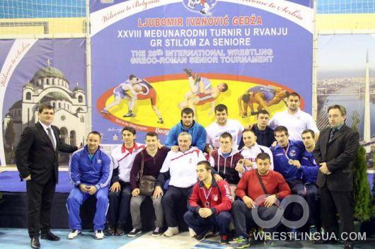 Результаты международного турнира по греко-римской борьбе