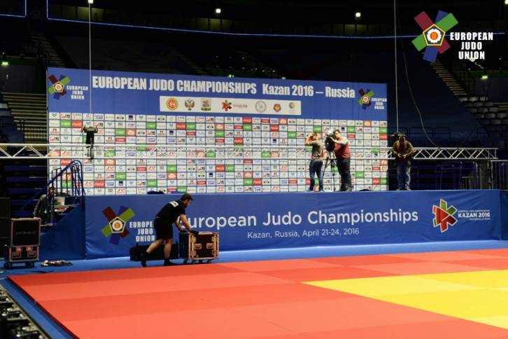 European Judo Championships live streaming! 21st April Kazan today online results