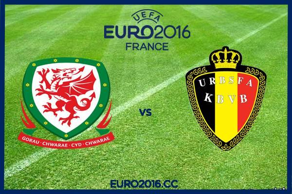 ЧЕ2016 Уэльс-Бельгия 3:1