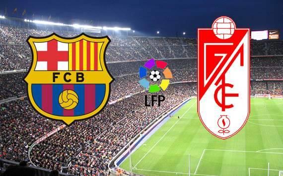 «Барселона» одолела «Гранаду» в1500-м матче на«Ноу Камп»