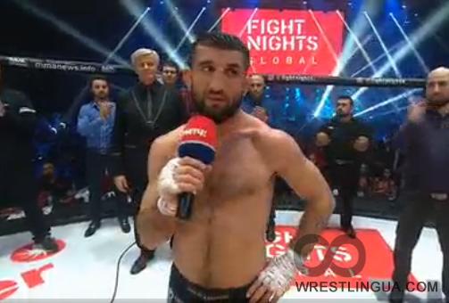 Боец Мирзаев потерпел первое поражение вкарьере