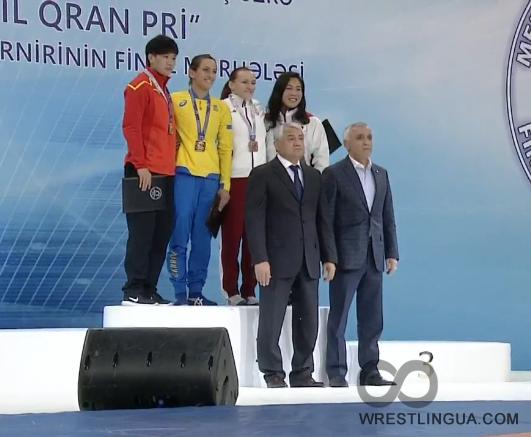 Первую награду нашей сборной наГолден Гран-при вАзербайджанской столице принес Ален Засеев