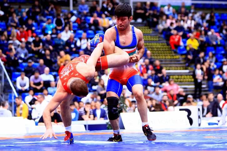 Борец из Российской Федерации Магомед Курбаналиев завоевал золотую медаль наЧМ