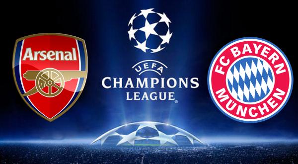 Посмотреть футбол бавария мюнхен арсенал лондон прямая трансляция