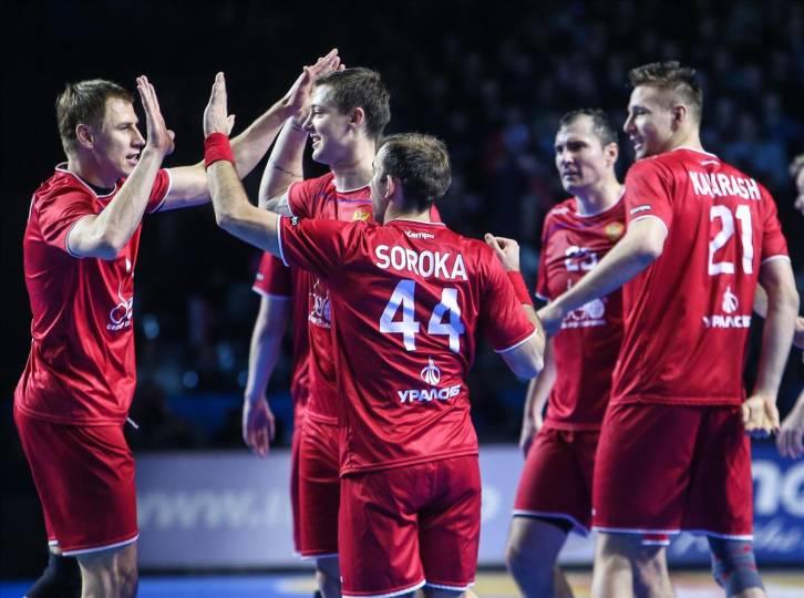 Русские гандболисты уступили сборной Швеции вматче отбораЧЕ