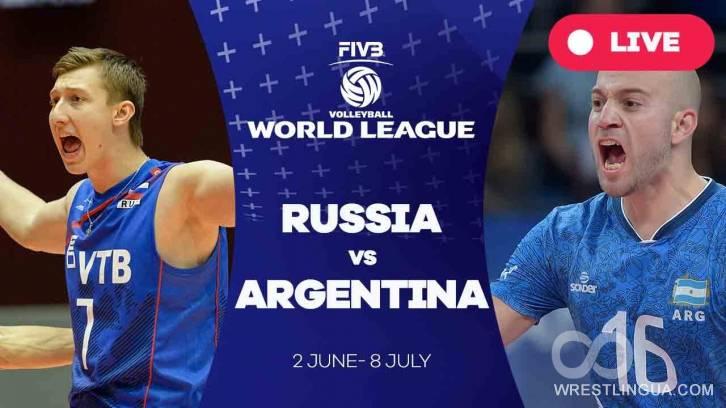 Онлайн-трансляция матча россия - аргентина