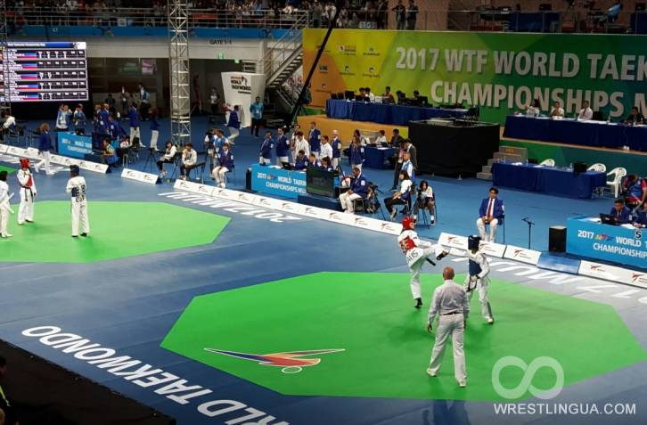 Храмцов— 1-ый чемпион мира вистории русского мужского тхэквондо