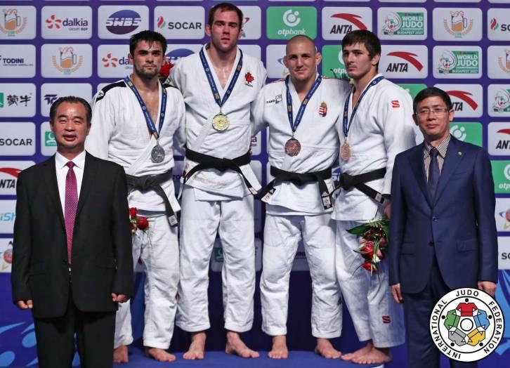 Русский дзюдоист Халмурзаев стал победителем этапа Гран-при вКитайской республике