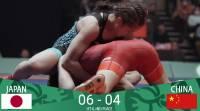 Япония - Победитель Кубка мира по женской, вольной борьбе 2018. Китай и Монголия - призеры! Результаты!