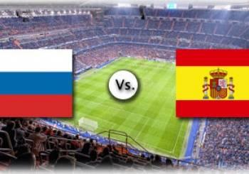 Трансляция футбольного матча россия испания