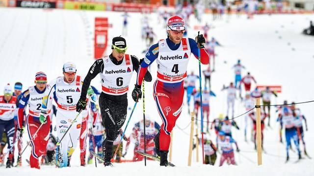 лыжи тур де ски сегодня трансляция