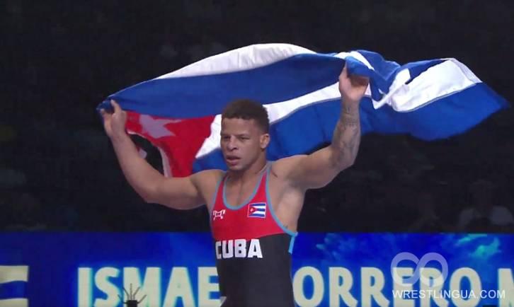 Евлоев стал двукратным чемпионом мира ввесе до97кг
