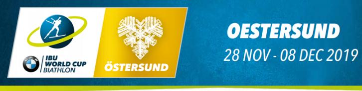 Биатлон сегодня, Кубок мира 01.12.2019 в Остерсунде ...